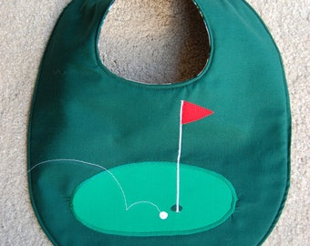 The Golfer Bib
