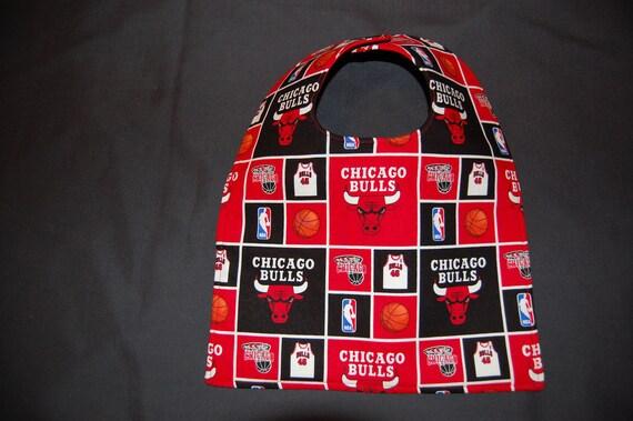 Chicago Bulls Baby Bib