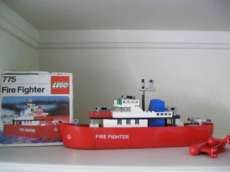 lego fire boat instructions