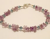 RESERVED for Anne Amethyst Bracelet