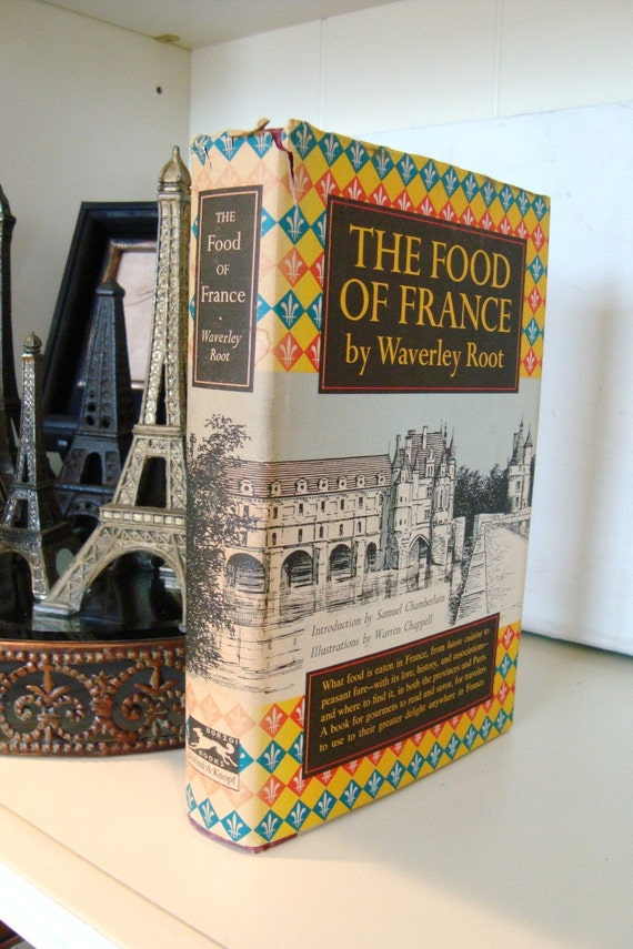 Vintage The Food of France Book