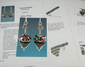"Tutorial for ""Treasure Basket"" Drop Earrings"