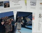 """Tutorials for the """"Belles Fleurs"""" bracelets"""