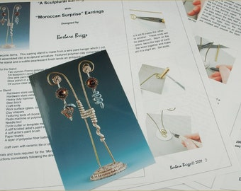 "Tutorial for the ""Sculptural Earring Stand"""