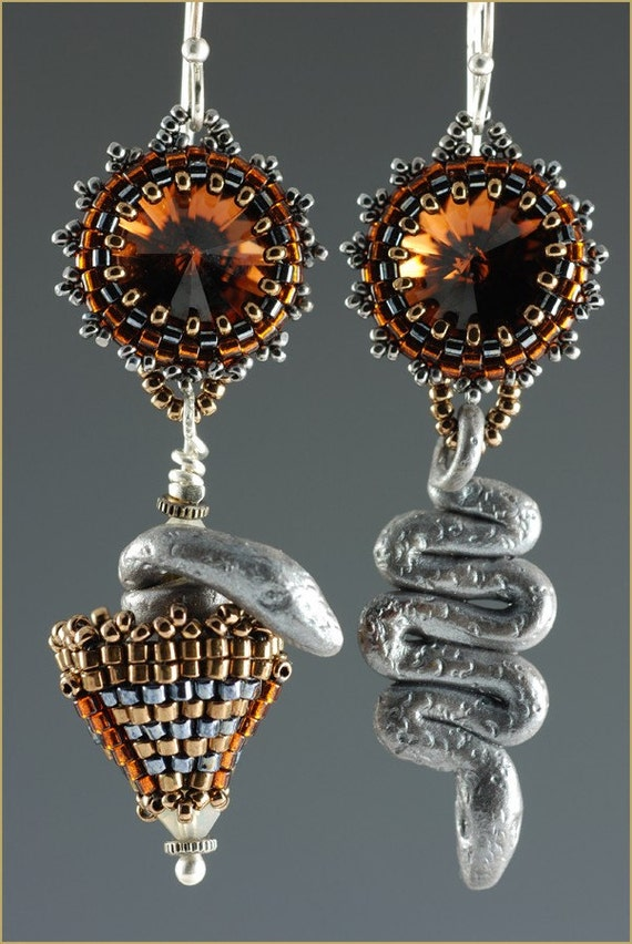 """The """"Moroccan Surprise"""" Earrings Beading Kit"""