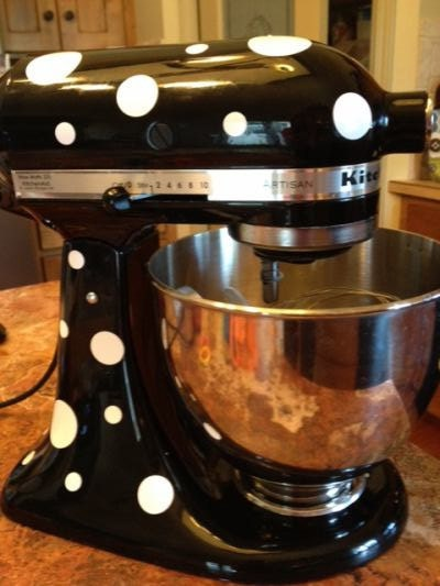 Polka Dots For Your Kitchenaid Stand Mixer Personalize