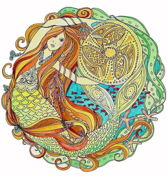 Celtic Mermaid of Carrick  - print