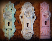 RESERVED Antique decorative hardware - can customize to any color(s)
