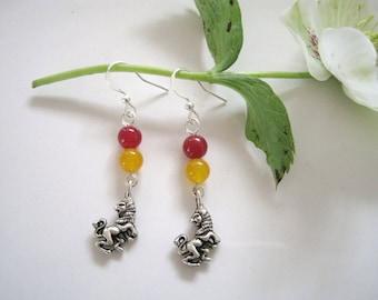 GRYFFINDOR inspired earrings
