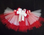 Little Candy Cane Christmas dog tutu, custom listing for Jennifer.