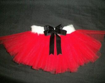 "Christmas tutu ""Santa baby"" custom made sizes Newborn-4t"