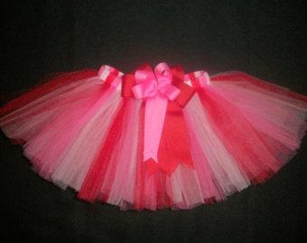 "Valentine's day tutu, ""Sweetheart"", custom made any size Newborn-4t"