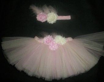 "Valentine's day tutu set, ""Pure Romance"" custom made any size Newborn-4t"