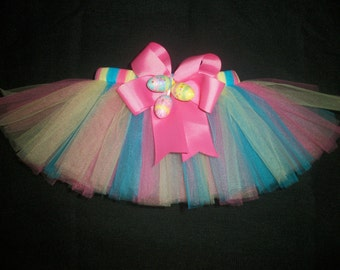 Easter dog tutu, custom made up to a 12 inch waist