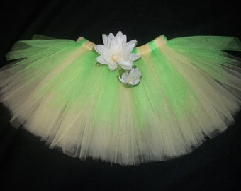 Princess Tiana tutu, the princess and the frog inspired tutu custom made sizes Newborn-4t