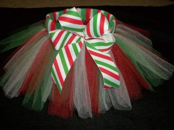 Christmas dog tutu custom made up to a 12 inch waist