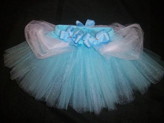 Cinderella tutu, blue princess cinderella inspired tutu custom made sizes Newborn-4t