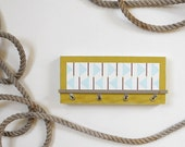 HARBOR: nautical flags modern wall mount key rack holder - PIGandFiSH