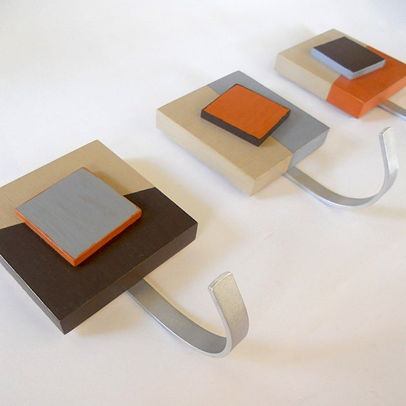 CAIXA Geometric Decor Modern Design Wall Hooks By PIGandFiSH