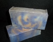 Set of 2 Bars  Handcrafted Sweet Orange & Patchouli Soap ALL NATURAL