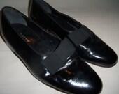 Bally OPERA Black Leather Slip On Formal Dress/Tuxedo Shoes Mens 10.5 N  10 1/2 N Narrow France