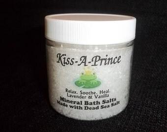 Relax. Heal. Soothe. Bath Salts Made with Dead Sea Salt  8 oz.