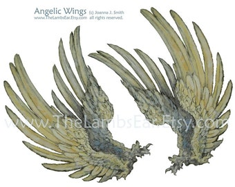 Instant Download Angel Wings