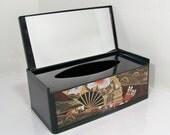 Lacquered Ware Tissue Box