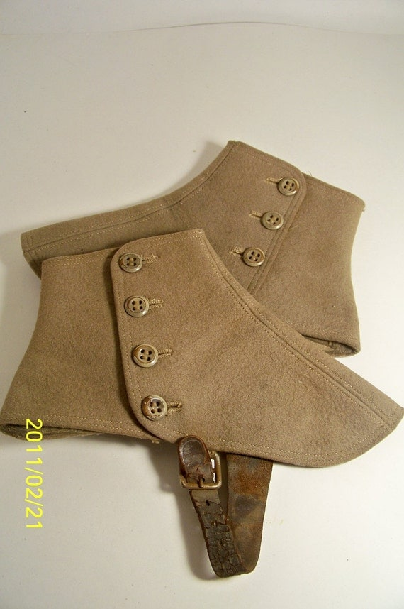 Vintage Spats Shoe Covers On Sale Now By Smakboutique On Etsy