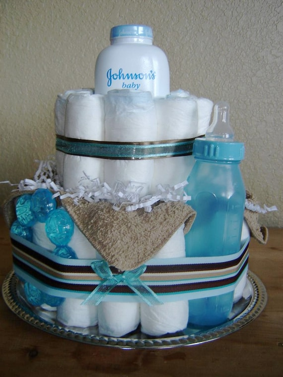 Baby Boy Shower Cakes Simple