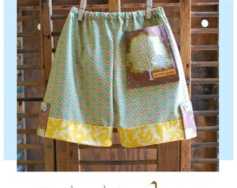 BG Original - The Tree-Hugger Shorts pdf pattern