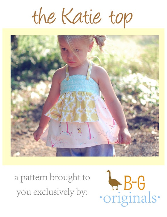 BG Original The Katie Top pdf pattern