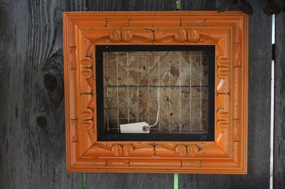 Custom Vertical Wall Succulent Planter Box with Frame for Spring