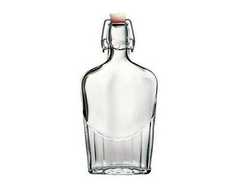 12  pcs 250ML swing top glass flask from Italy
