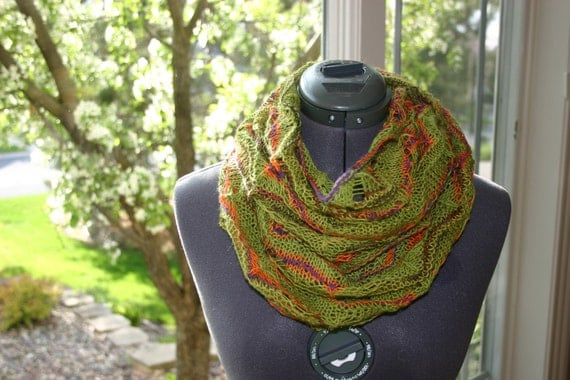 Light Weight Lace Infinity Scarf