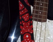 Rock You Like A Hurricane guitar strap