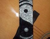 Opposites Attract guitar strap