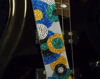 Round and Round guitar strap