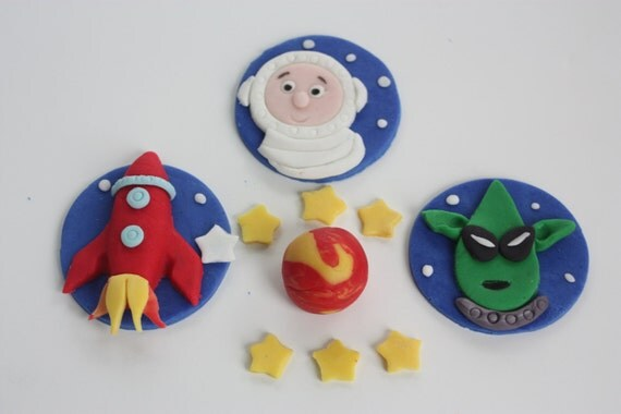 planets cake toppers-#14