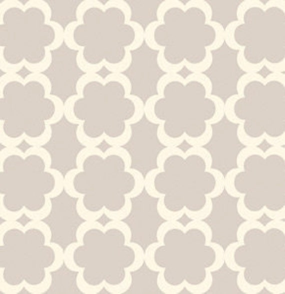 """25 Inch Remnant """"Tarika"""" in Neutral by Dena Designs, Taza, Quilting Cotton, End of Bolt"""