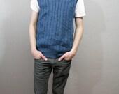 Cobalt Blue Bangin Sweater Vest