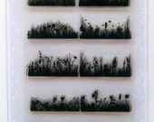 Meadow and grass - FLONZ clear stamps - set 18
