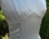 Vintage 1940s Wedding dress slipper satin bridal gown retro styleRESERVED BIANCA