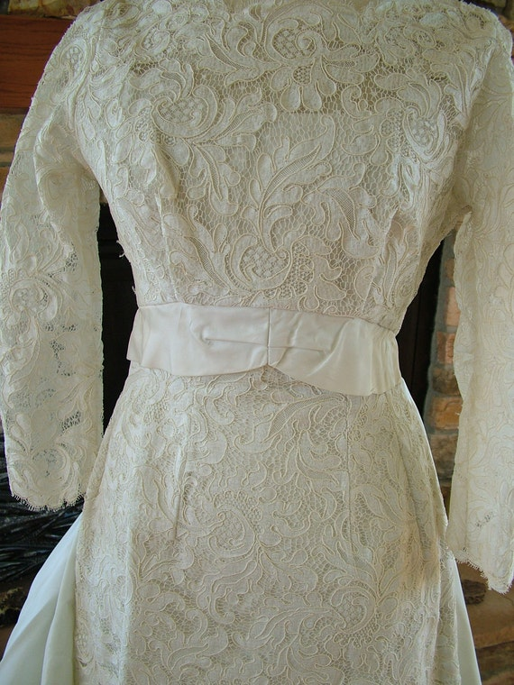 Wedding dress 1960s vintage  RESERVED