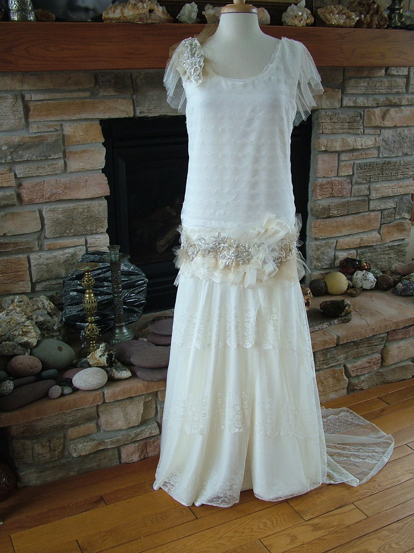 robe de mari e inspir e des ann es 1920 originale flapper robe