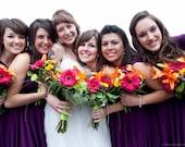 Infinity Wrap Dress - Convertible Jersey Bridesmaid Dress