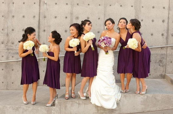 Infinity Bridesmaid Dress