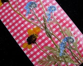 Valentines Real Flower Bookmark Love Friend Gift Pressed Flowers