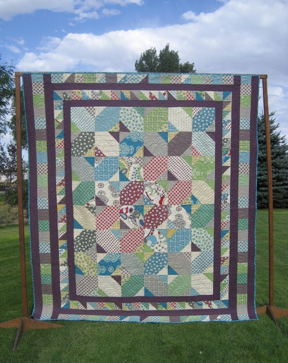 Remembering my Youth Queen Size Bed Quilt