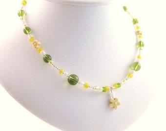 Medium Girls Necklace, GNM 107, Sterling Silver